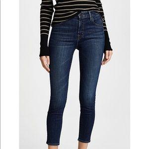 J brand Alana crop high rise jeans